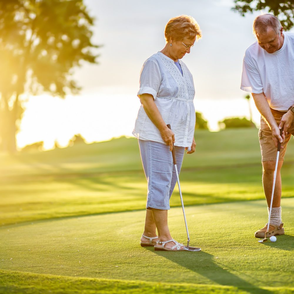 Senior Golf Tips for a More Powerful Swing