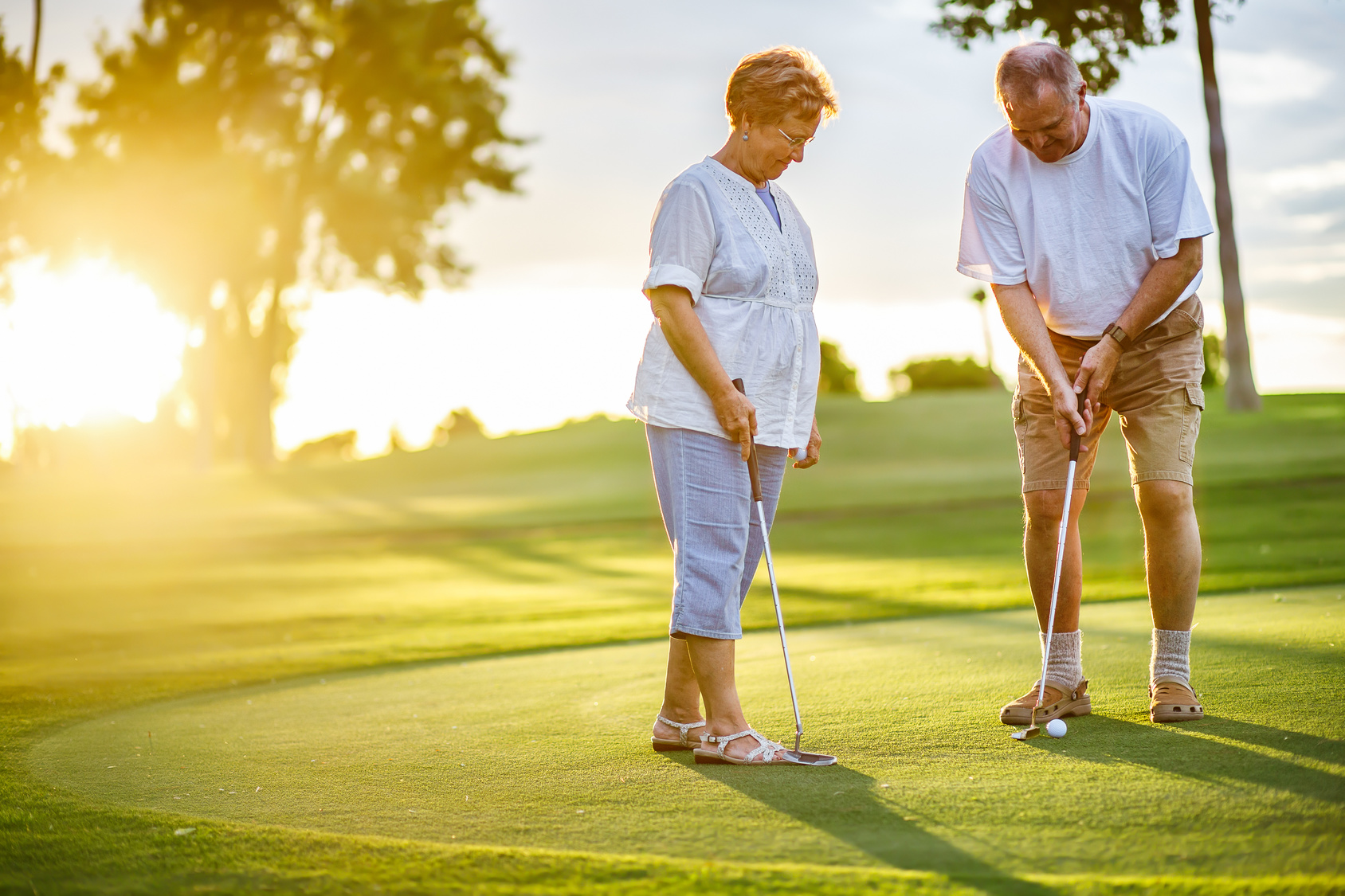 Senior Golf Tips